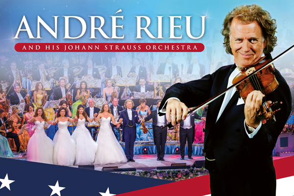 Andre Rieu Christmas Concert 2020 Cinema First USA 2020 Tour dates